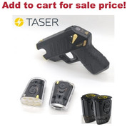 TASER Pulse+ Self-Defense Tool w/ Noonlight Mobile Integration 15ft Range + 2 Extra Cartridges 39064 37215 - Add to cart for sale price!