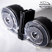 KCI-USA AR-15 M16 M4 .223 5.56x45mm 100 Round DRUM MAGAZINE KCI-MZ001