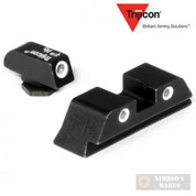 Trijicon NIGHT SIGHTS SET GLOCK 17-39 Green / Yellow GL01Y
