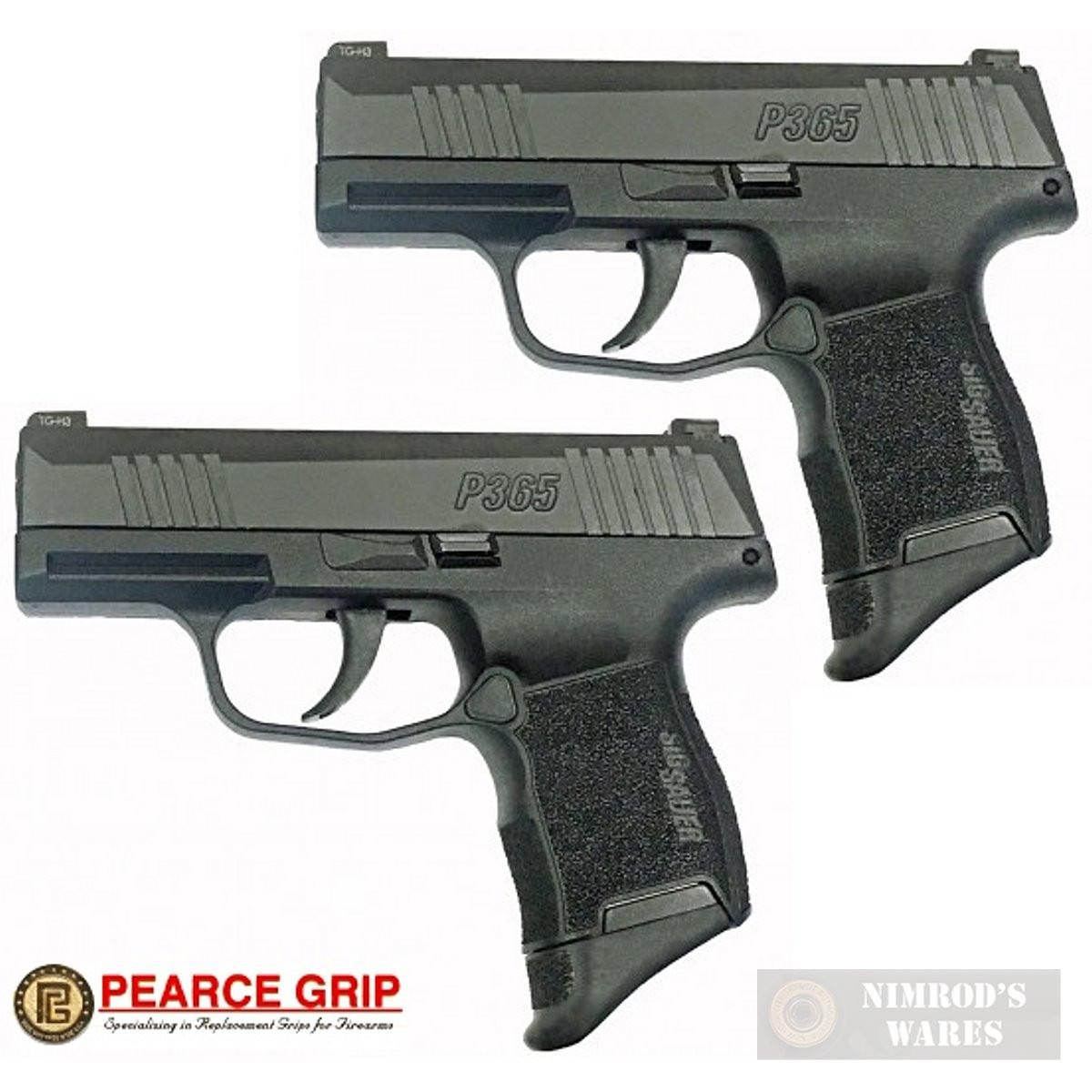 Pearce Grip SIG SAUER P365 GRIP EXTENSION 2-PACK 5/8