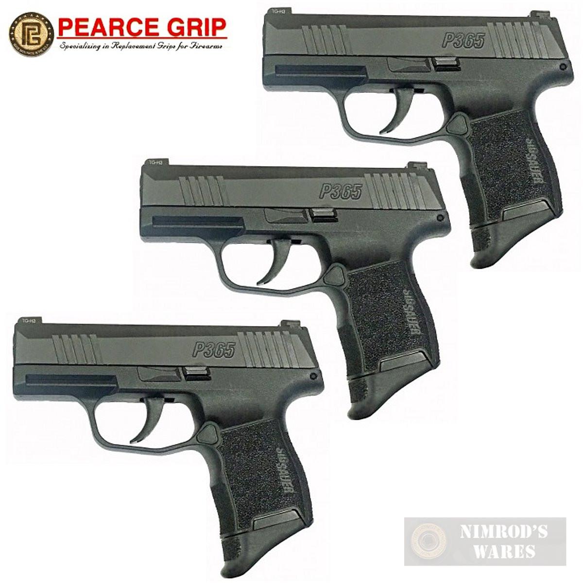 Pearce Grip SIG SAUER P365 GRIP EXTENSION 3-PACK 5/8