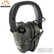 WALKER's RAZOR SLIM Shooter Low Prof. EARMUFFS 23dB MultiCam Gray GWP-RSEM-MCCG