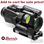 Burris TPMR 3 Prism Red Dot SIGHT 3x32 .223 Reticle QD Mount 300224 - Add to cart for sale price!