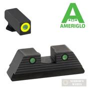 AmeriGLO GLOCK 42 43 43X TROOPER Night Sights SET GL-822