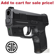 SIG SAUER P365 GREEN Laser SIGHT LIMA365 SOL36502 - Add to cart for sale price!