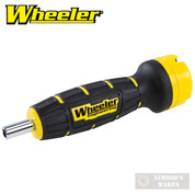 Wheeler Digital F.A.T Firearm Torque Wrench + 10 Bits + CASE 15-100 in/lb 710909