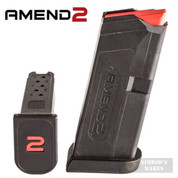Amend2 GLOCK 43 G43 9mm 6 Round MAGAZINE Clip AM9A2GLOCK43BLK