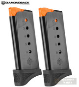 Diamondback DB9 GEN 4 9mm 6 Round MAGAZINE 2-PACK + Extensions DB9-MAGG4E