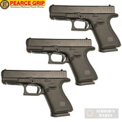 Pearce Grip GLOCK 17 19 34 GEN 5 BASEPLATE ENHANCED 3-PACK PG-G5BP