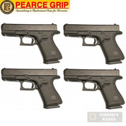 Pearce Grip GLOCK 17 19 34 GEN 5 BASEPLATE ENHANCED 4-PACK PG-G5BP