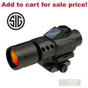 "SIG SAUER Romeo 6T 1x30mm RED DOT SIGHT SOLAR 0.5"" MOA SOR61031 - Add to cart for sale price!"