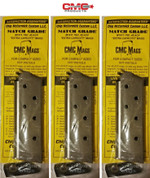 CHIP McCORMICK 1911 Officer .45 ACP 7 Round MAGAZINE 3-PACK Match 14121
