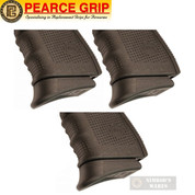 Pearce Grip GLOCK Gen 4 & 5 9mm .40SW GRIP EXTENSION 3-PACK PG-19G5