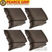 Pearce Grip GLOCK Gen 4 & 5 9mm .40SW GRIP EXTENSION 4-PACK PG-19G5