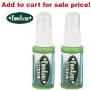 FrogLube EXTREME CLP 1 oz SPRAY BOTTLE 2-PACK Bio-Based Non-Toxic 15263 - Add to cart for sale price!