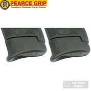 Pearce Grip S&W M&P Shield & 2.0 9mm .40SW Grip Extensions PLUS PG-MPS+ 2-PACK