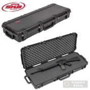 "SKB 4214 Tactical RIFLE CASE w/ Wheels 42.50""x14.50""x5.5"" 3I-4214-5B-L"