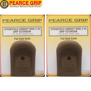 Pearce Grip SPRINGFIELD XD MOD 2 45 GRIP EXTENSION 2-PACK PG-M245FDE
