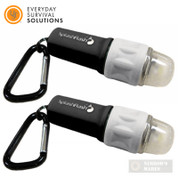 UST SplashFlash Survival LIGHT 2-PACK Waterproof 25 Lumens GLO 20-17001-15