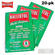 Ballistol CLP WIPES Multi-Purpose 20-pk Non-Carcinogenic 120106
