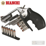 BIANCHI .38 .357 Revolver 2 x SPEED STRIPS 6 Rounds 20056