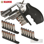 BIANCHI .38 .357 Revolver 4 x SPEED STRIPS 6 Rounds 20056