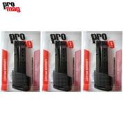 ProMag M&P SHIELD 9mm 10 Round MAGAZINE 3-PACK SMI28