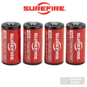 SUREFIRE SF123A CR123A BATTERIES 4-PK SF2-CB