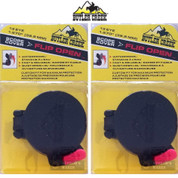 "Butler Creek Flip-Open SCOPE COVER 2-PACK Size 13 1.570"" 39.9mm MO20130"