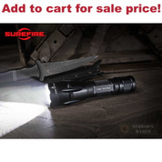 SureFire FURY Dual Fuel Tactical FLASHLIGHT 1200/1500 LUMENS FURY-DFT - Add to cart for sale price!