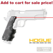 HOGUE 1911 Colt Government Laser SIGHT GRIP 45080 BLACK - Add to cart for sale price!