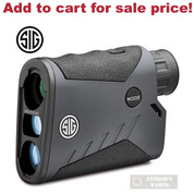 Sig Sauer KILO1000 BDX 5x20mm Digital RANGEFINDER SOK10602 - Add to cart for sale price!