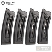 American Tactical GSG-16 .22LR 10 Short Round MAGAZINE x 4 GERMGSG16TP10
