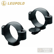 "Leupold Standard LOW 1"" Scope RINGS Matte Black 49910"