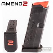 Amend2 GLOCK 42 G42 .380 6 Round MAGAZINE Clip AM11A2GLOCK42BLK