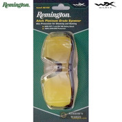 Remington Wiley X Shooting GLASSES Ballistic Blk/Yellow Adult RE102