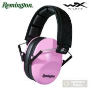 Remington Wiley X EAR MUFFS Women's NRR 34 Shooting Safety RH200