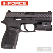 InForce APL Compact HANDGUN LIGHT 200 Lumens 1913 Mil-Std AC-05-1