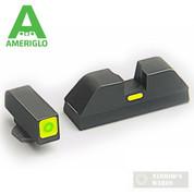 AmeriGlo Glock 17-39 CAP Night Sights Green/Green GL-614