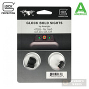 AmeriGlo Glock BOLD Night Sights GEN 5 G17 G19 G26 G34 47285