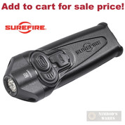 SureFire STILETTO Pocket FLASHLIGHT USB Rechargeable 650/250/5 Lumens PLR-A - Add to cart for sale price!