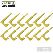 TapCo Rifle CHAMBER FLAG / SCOPE ADJUSTMENT TOOL / PUNCH 12-PK Yellow 16804