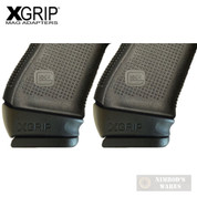 X-Grip Use GLOCK Gen5 17 22 31 FULL-Size MAG in Gen 3-5 GLOCK 19 23 32 GL1923G5 2-PACK