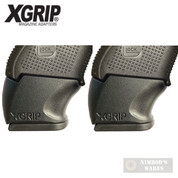 X-Grip Use GLOCK Gen5 17 22 31 FULL-Size MAG in Gen 3-5 GLOCK 26 27 33 GL2627G5 2-PACK
