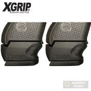 X-Grip Use GLOCK Gen5 19 23 32 Std. MAG in Gen 3-5 GLOCK 26 27 33 GL2627CG5 2-PACK