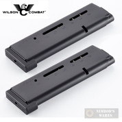 Wilson Combat 1911 .45ACP HD/+P Elite Tactical MAGAZINE 2-PACK MAX Spring ETM 500BA-HD