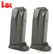 H&K P2000SK .40 SW 9 Round MAGAZINE 2-PACK 207314S Factory