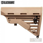 BlackHawk! AR M4 KNOXX 5-Position Adjustable BUTTSTOCK Commercial-Spec Dark Earth K11021-C