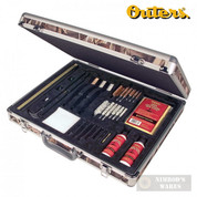 Outers Universal GUN CARE SYSTEM 31-pc Odorless Aluminum Case 96235
