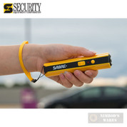 Sabre STUN GUN 3.8M Volts + FLASHLIGHT 100 Lumens S-1006-YW Yellow